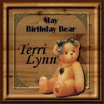 my birthday bear